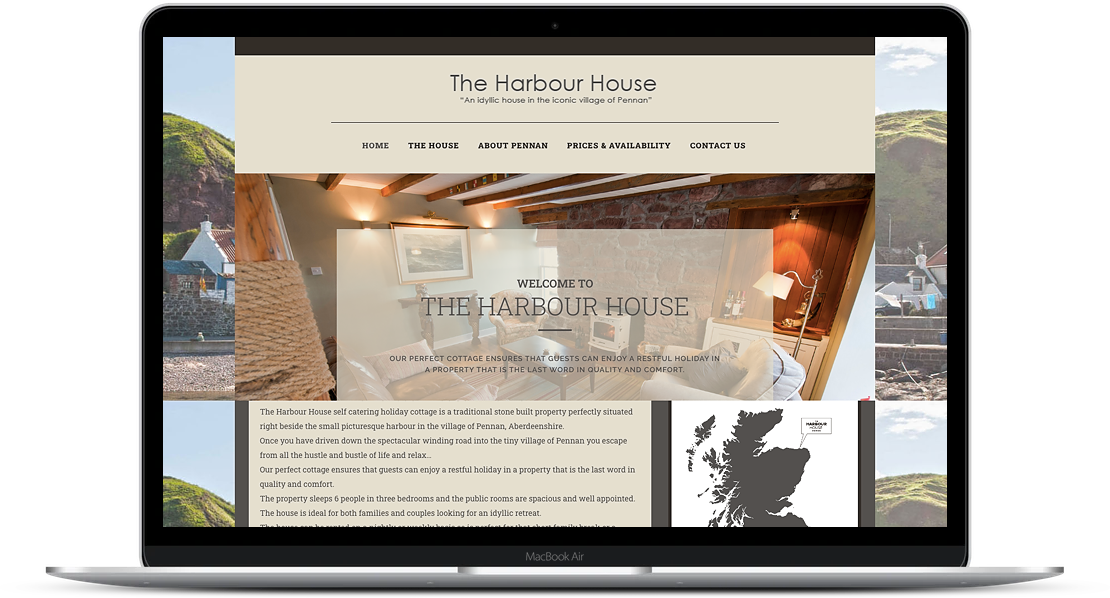 The Harbour House – Pennan